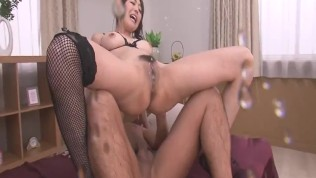 Double Penetration For Akari Asagiri´s Holes – More at Japanesemamas.com